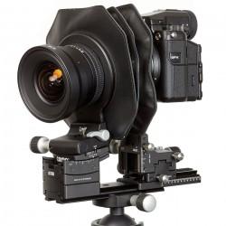 Cambo ACTUS-Kameragehäuse schwarz mit Schneider Kreuznach 24mm Objektiv