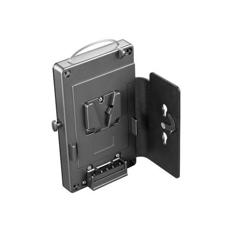 DLBCA2-V Gürtelhalter mit Montageplatte