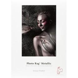 "Photo Rag Metallic 340 gsm. 50"" Rolle  Hahnemühle Fine Art"