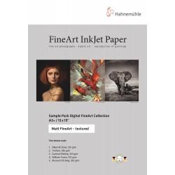 Sampel Pack A3, Matte Fine Art Textured
