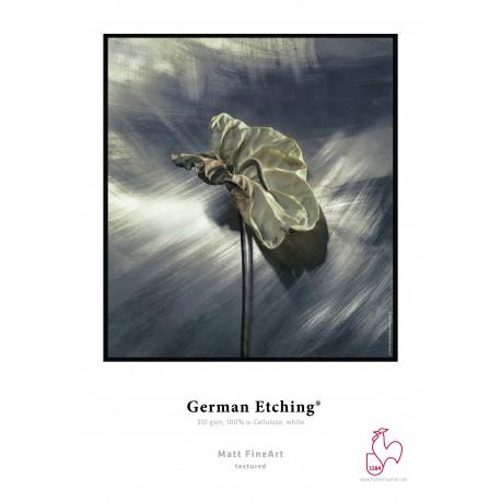 "German Etching 310 gsm,44"" Rolle Hahnemühle Fine Art"