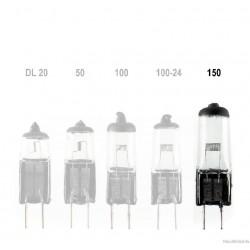 Dedolight Halogenlampen 150Watt/24 Volt