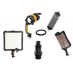 3 LED Leuchten Kit - dedolight-tecpro