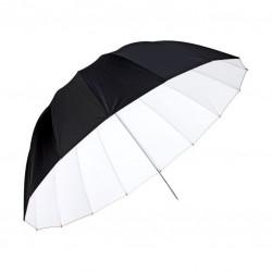 Schirm parabolisch Ø 160 cm, weiß (U-160A DEEP)