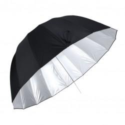 Schirm parabolisch Ø 160 cm, silber (U-160C DEEP)