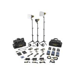 Dedolight 3 Leuchten Kit -Mikro-LED-Kit Tageslicht , Master