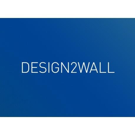 Design2wall Vlies-Tapete matt 180  g/m² Hochwertige PVC-freie Vliestapete