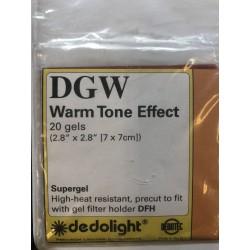 Warm Tone Effect Filterfoliensatz 7x7cm