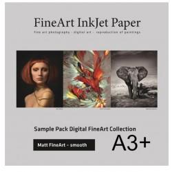 Sample Pack Matt FineArt Smooth A3+