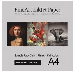 Sample Pack Matt FineArt Smooth A4