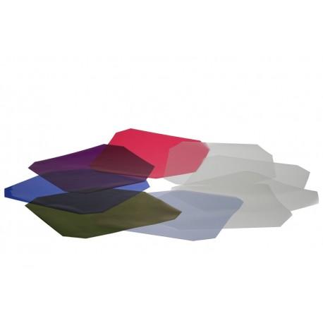 "Color Streufilterset, für 9"" Reflektor"