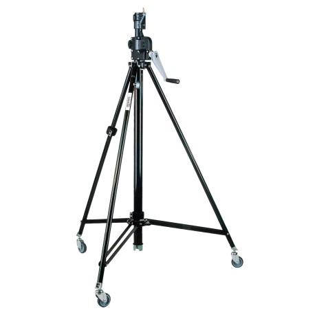 Stahl-Klappstativ, 139-247cm mit Winde und Rollen
