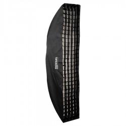 Softbox E 30x160cm inkl. Stoffwabe,Speedring