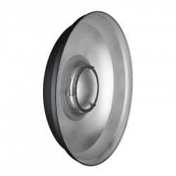"""22"""" ACS Beauty Dish, silber 56cm"""