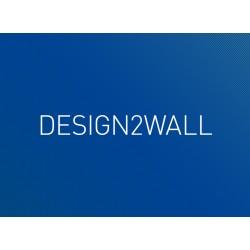 Non-woven design2wall Aqua , matt 180 gr.