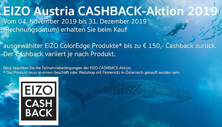 Cashback Aktion 2019